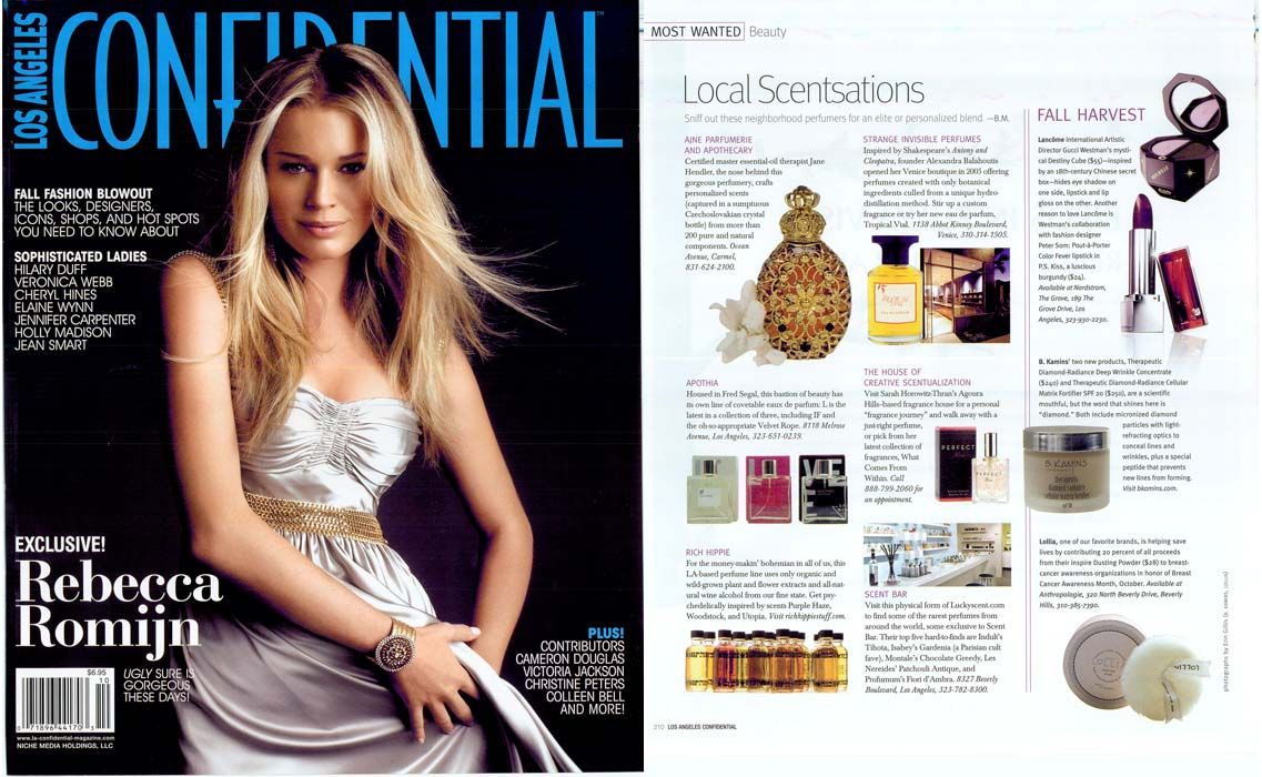 Los Angeles Confidential<br>Fall 2007 Fashion Guide