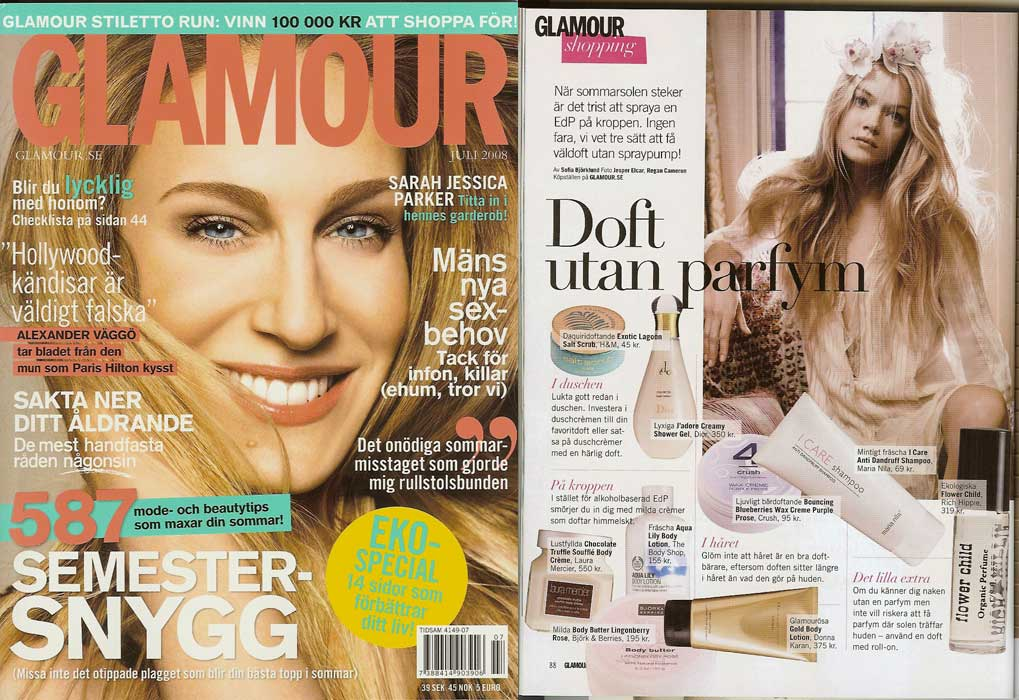 Swedish Glamour <br>July 2008