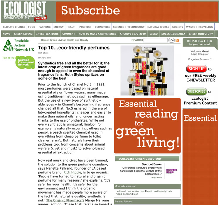 TheEcologist.org <br> April 2011